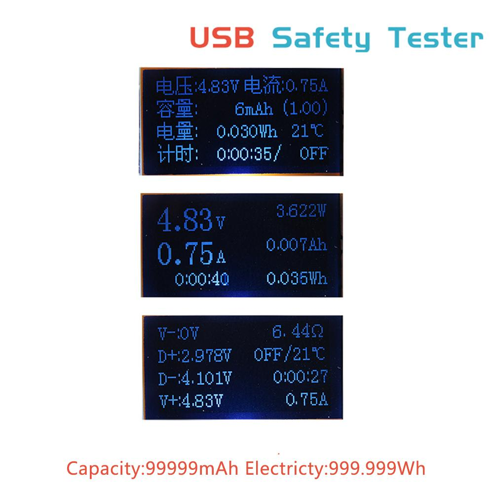 pictures DC 3 30V USB Safety Tester Current