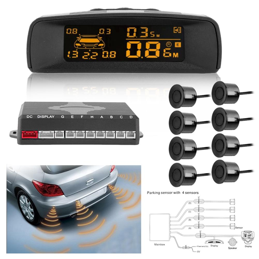 Wireless Car Reverse Backup Radar System Car Rever Wireless Led Parking Sensor