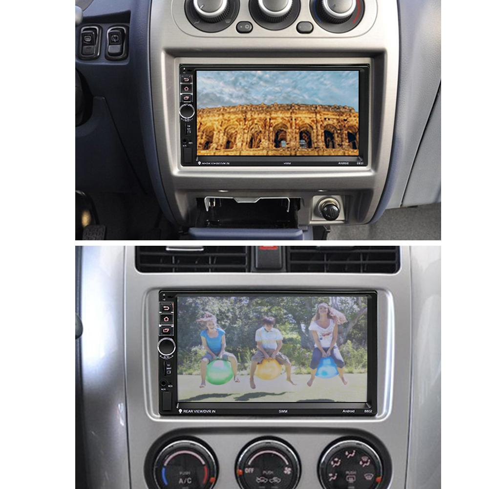 2din 7 U0026quot  Autoradio Android Car Stereo Mp5 Player Gps Nav Rds Aux  Usb  Fm  Am Camera