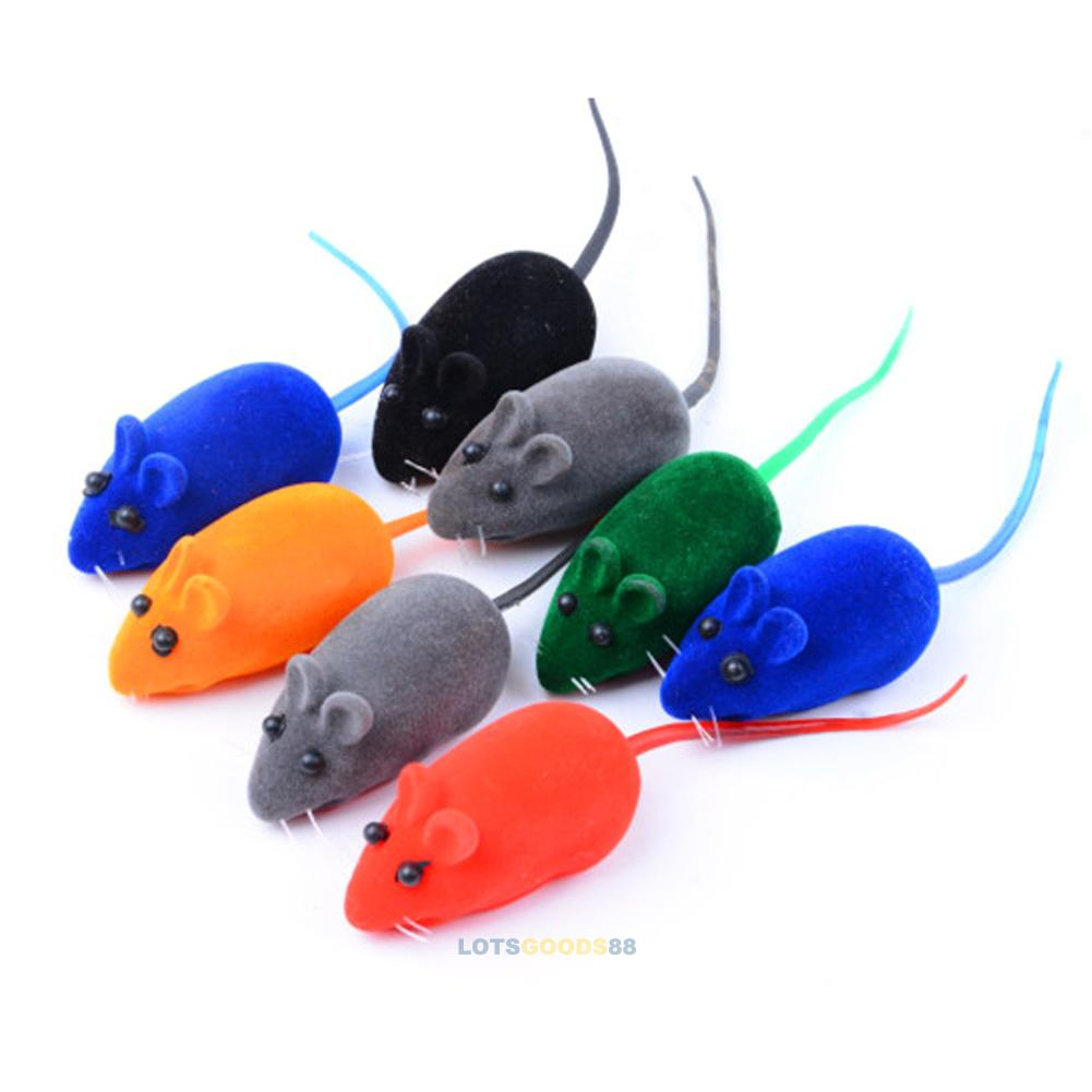 Blue Mouse Lightweight Cat Toy