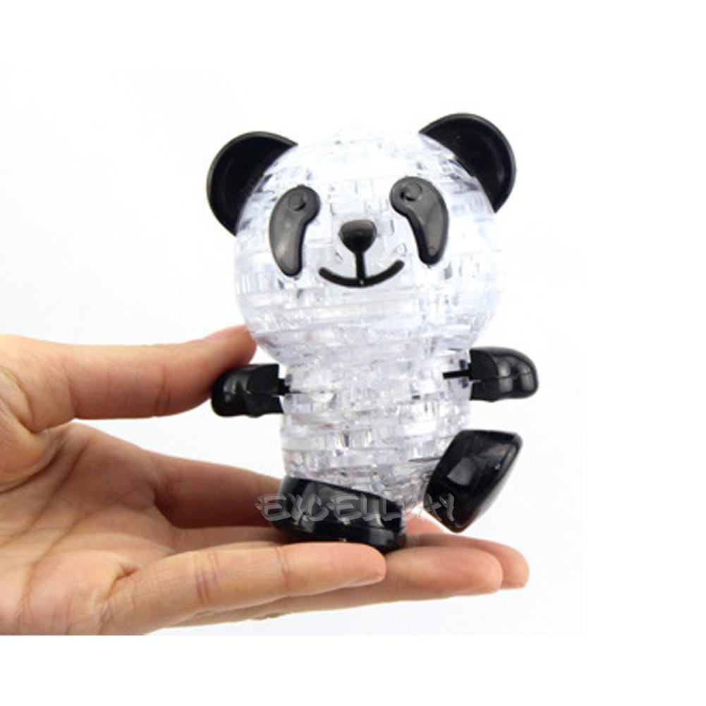 3d crystal puzzle panda instructions