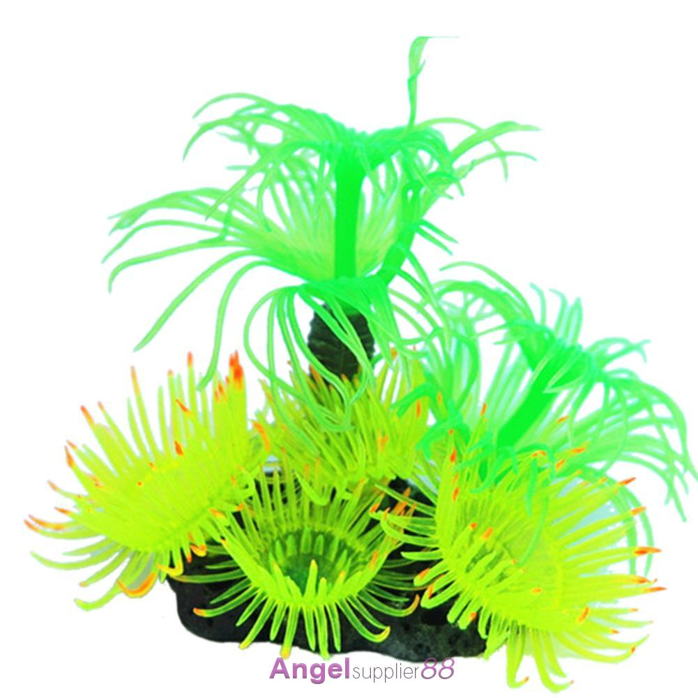 Aquarium fish tank ornament artificial coral reef tree for Artificial coral reef aquarium decoration uk