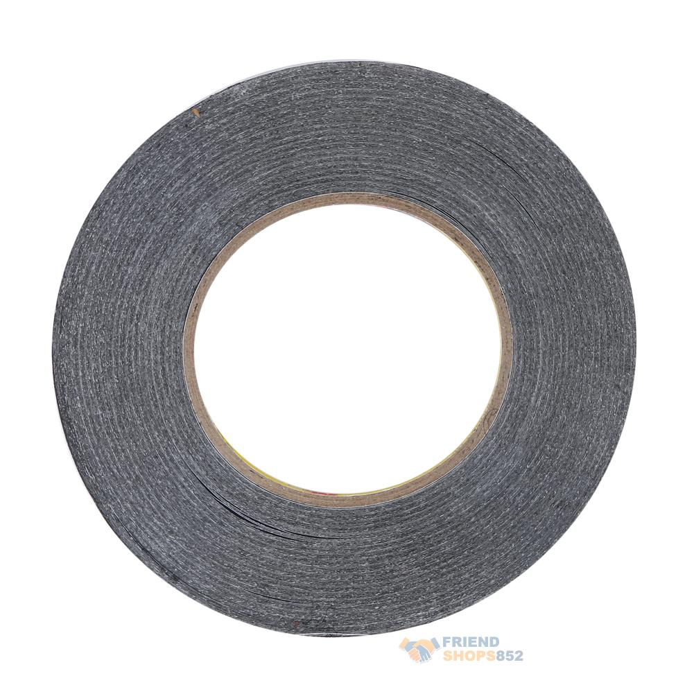 Thin 3mm 50m Black Double Sided Adhesive Tape For Mobile