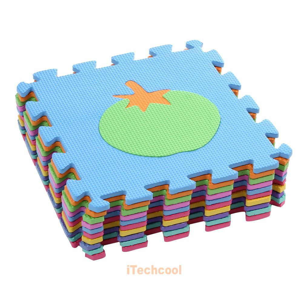 Baby Crawling Crawl Soft Play Mat Kids Foam Floor Puzzle