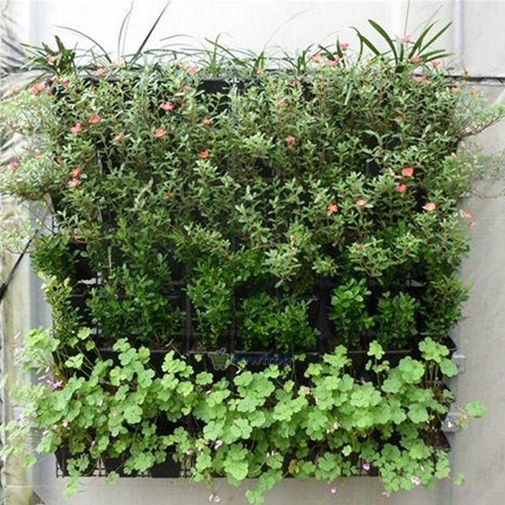 64 Pockets Outdoor Vertical Greening Hanging Wall Garden