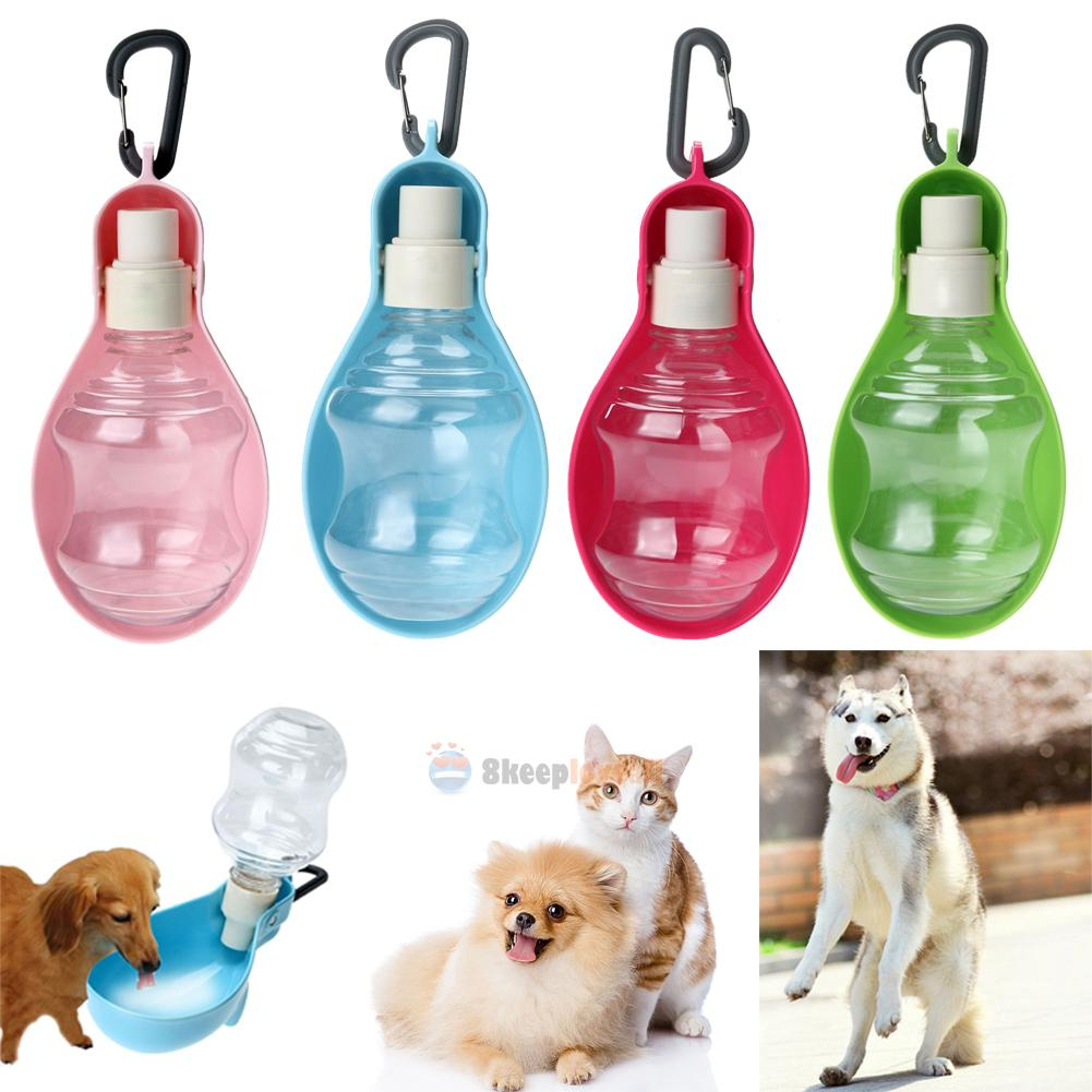 Portable Pet Travel Water Bowl Bottle Dispenser Feeder Dog