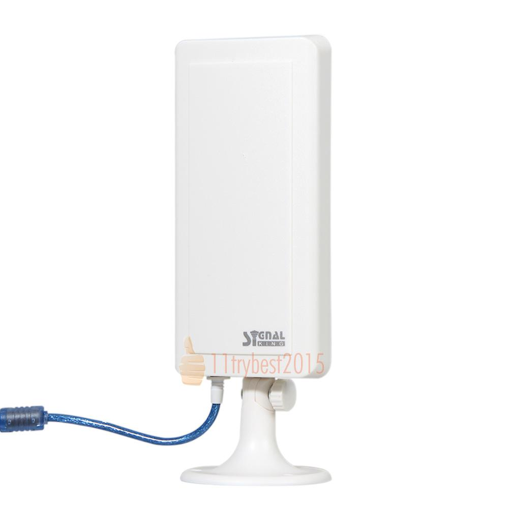 Usb wifi antenne long distance ferngespr ch booster for Antenne wifi exterieur usb
