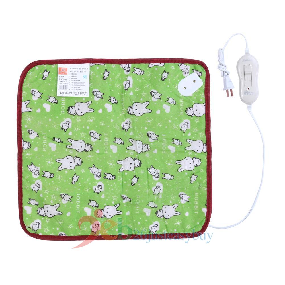 Hot pet puppy kitten warm electric heat pad dog cat bunny for Hot dog heating pad