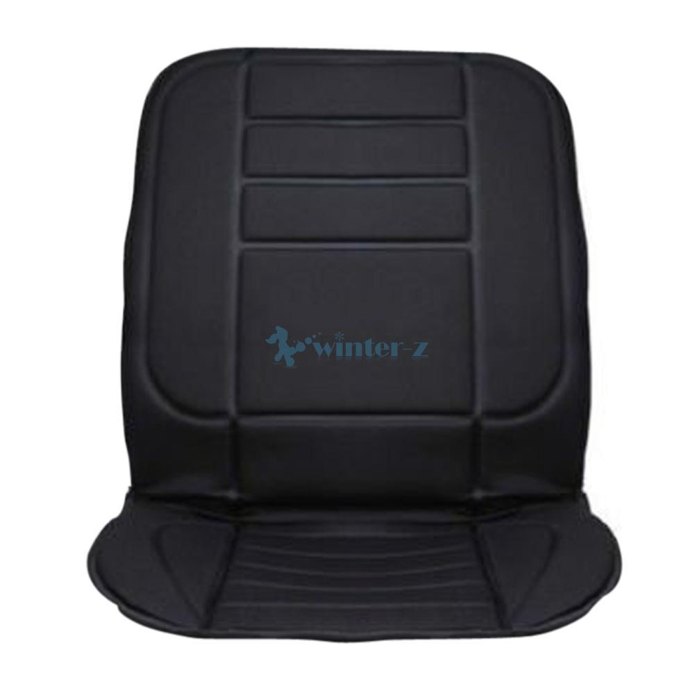 promotion car heated seat cushion cover auto 12v heating heater warmer pad usa ebay. Black Bedroom Furniture Sets. Home Design Ideas