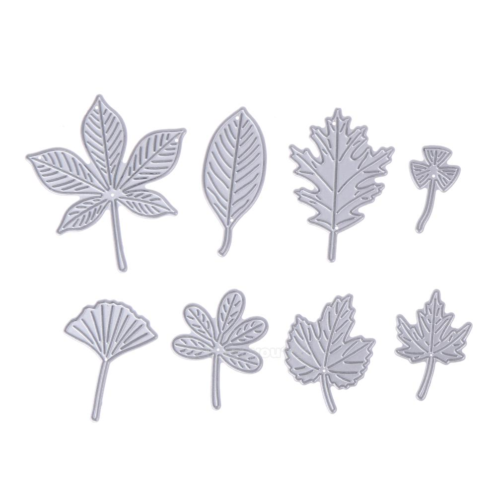 Leaf Frame Metal Cutting Dies Stencil Embossing Scrapbooking Card Decor Craft