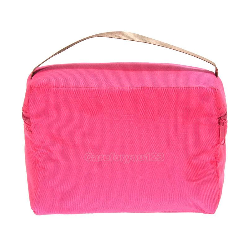 thermal insulated lunch box cooler bag tote bento pouch lunch bag container ebay. Black Bedroom Furniture Sets. Home Design Ideas